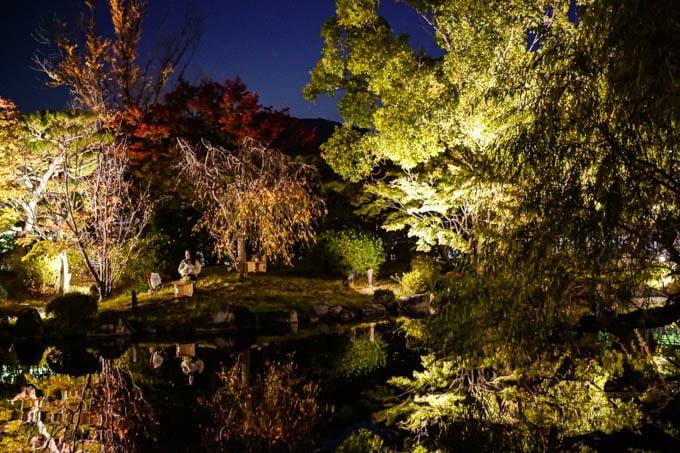 京都市京セラ美術館_日本庭園リフレクション