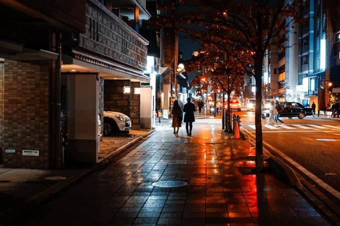 SIGMAfpティールオレンジin京都_街の道