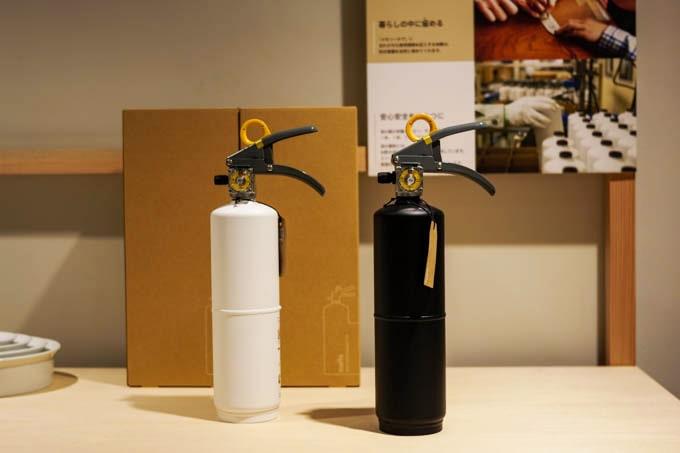 グッドデザイン神戸展2019_ミニマルデザインの住宅用消化器