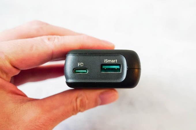 RAVPOWER(ラブパワー)_RP-PB186モバイルバッテリー_USBポート