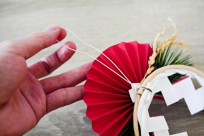 無印良品-正月飾り_取り付け用の紐