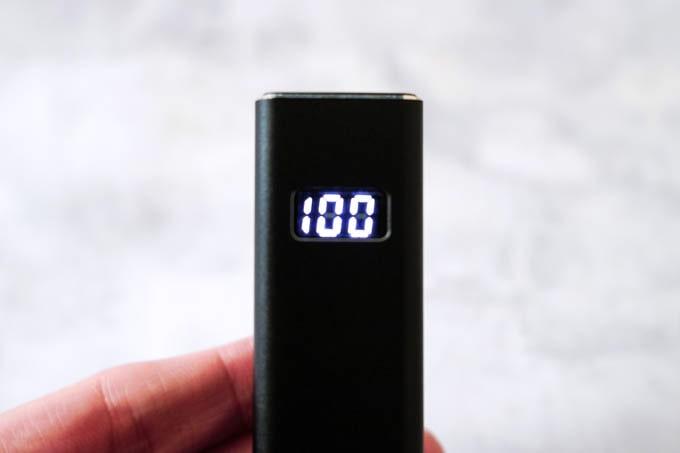 cheero-PowerPlus5-Stick(5000mAh)_残量のデジタル表示