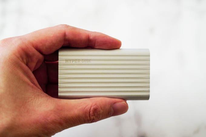 HyperDisk(ハイパーディスク)SSD_全体のサイズ