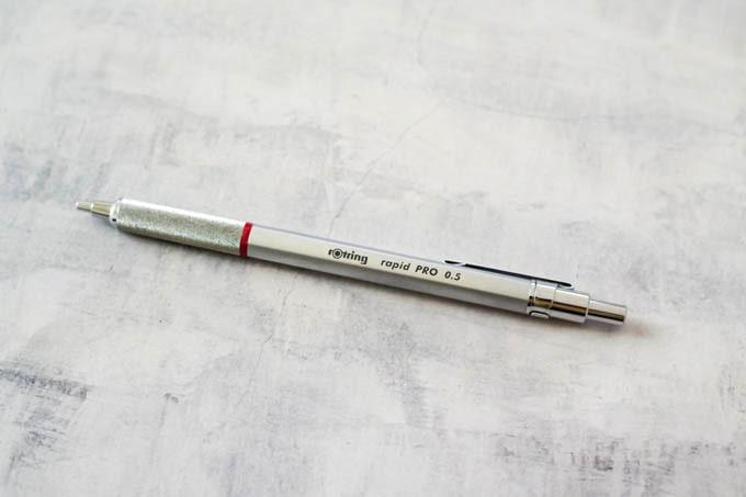 ロットリング0.5mmシャープペン