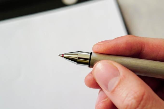 LAMYトライペン_赤ボールペン