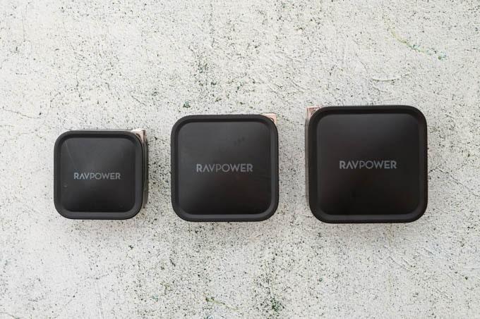 RAVPOWER-RPPC133_過去のデバイスとサイズ比較1