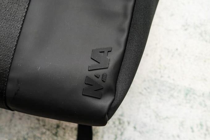 NAVA_FLAT SMALL ORGANIZED BACKPACK_ロゴ