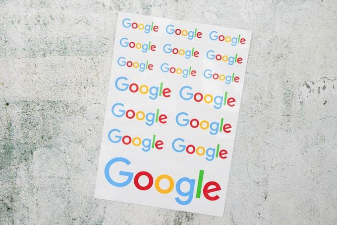 google公式グッズ_ステッカーシート