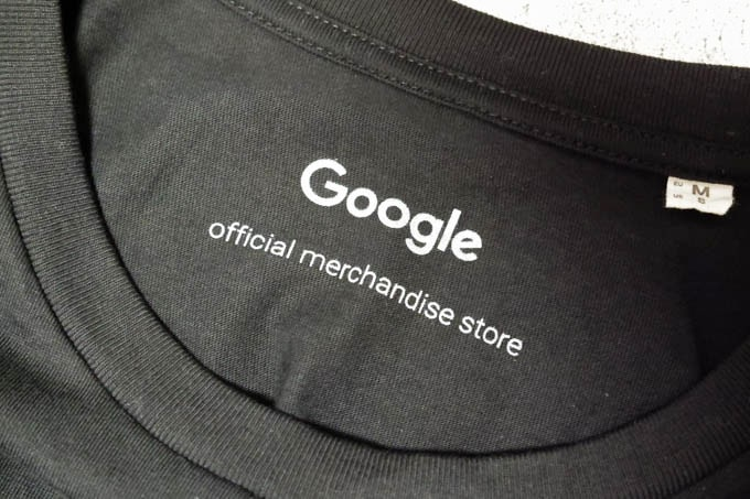google公式グッズ_Tシャツロゴ