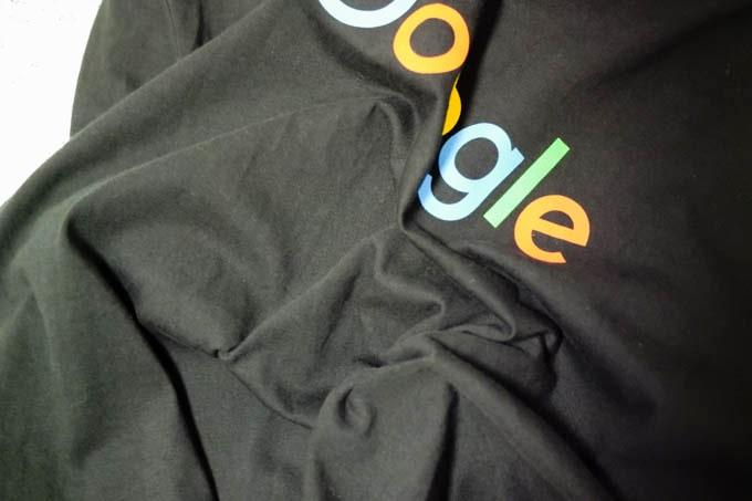 google公式グッズ_Tシャツの素材