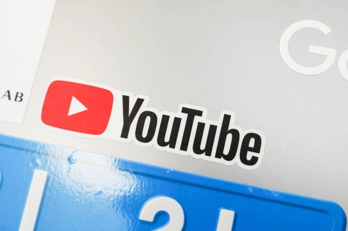 google公式グッズ_YouTubeステッカー