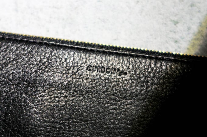 CURBONby...レザーポーチ_ロゴ
