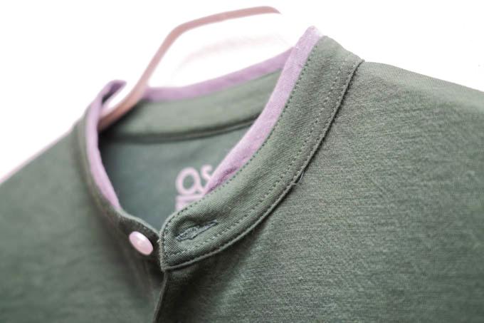 O5PRO POLOポロシャツ_スタンドカラータイプ_襟のデザイン