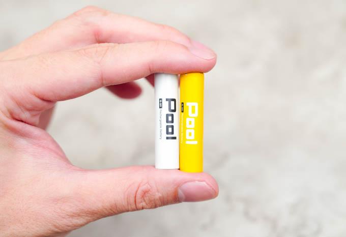 POOL充電池_単4電池