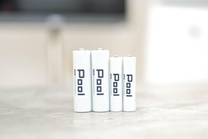 POOL充電池_4本セット