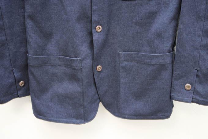 ALLYOURS着た着てジャケット_サイドポケット