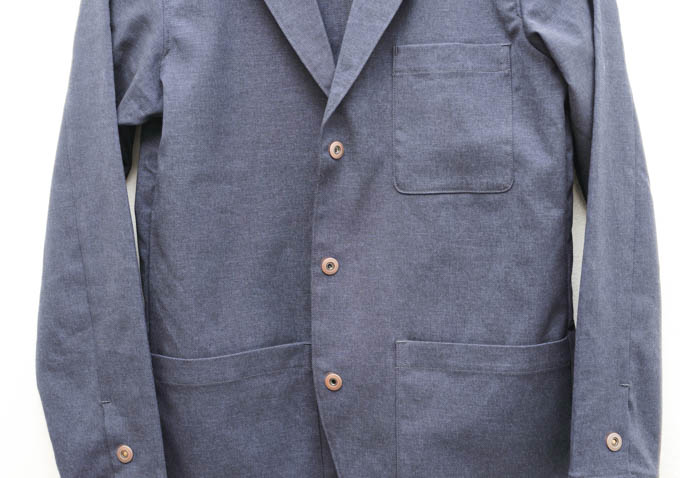 ALLYOURS着た着てジャケット_正面スナップボタン
