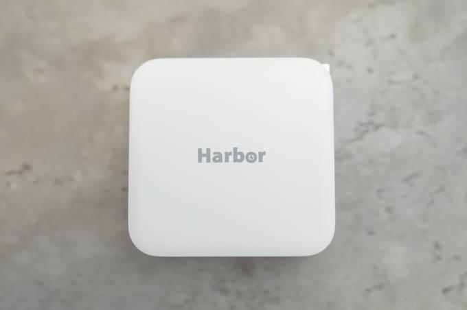 Harbor_GaN充電器_全体のデザイン