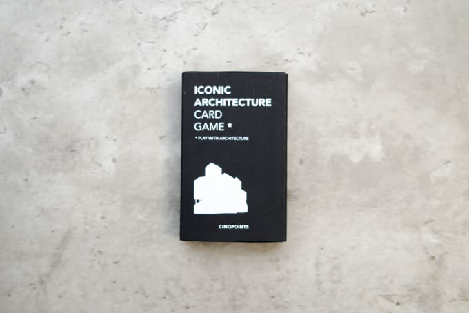 ICONIC ARCHITECTURE CARD GAME 01