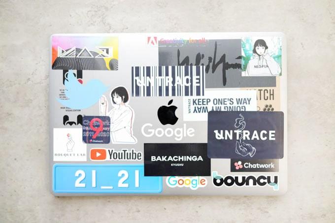 MacBookPro16インチ_ステッカー