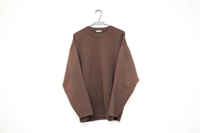 GU ミラノリブクルーネックセーター