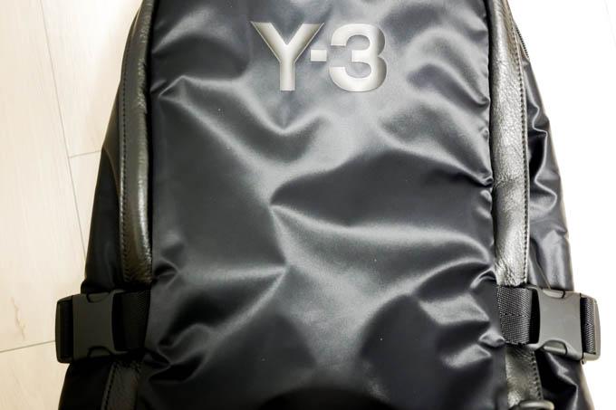 Y-3(ワイスリー)RACER BP バックパック_素材感