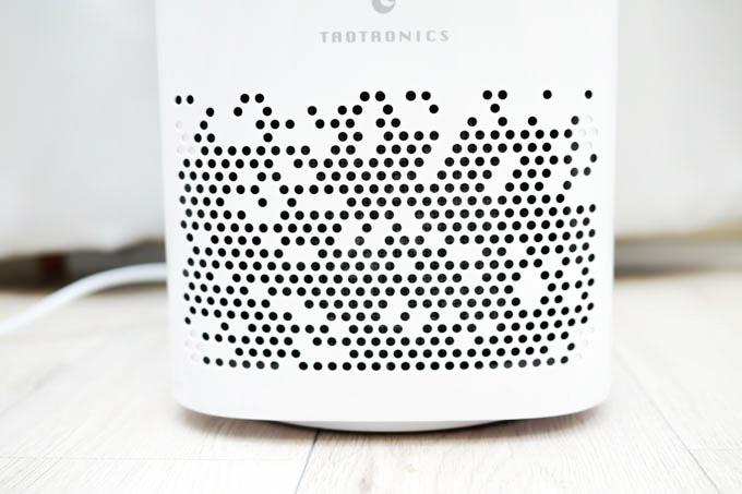 TAOTRONICS TTAP-006 空気清浄機_吸気口デザイン