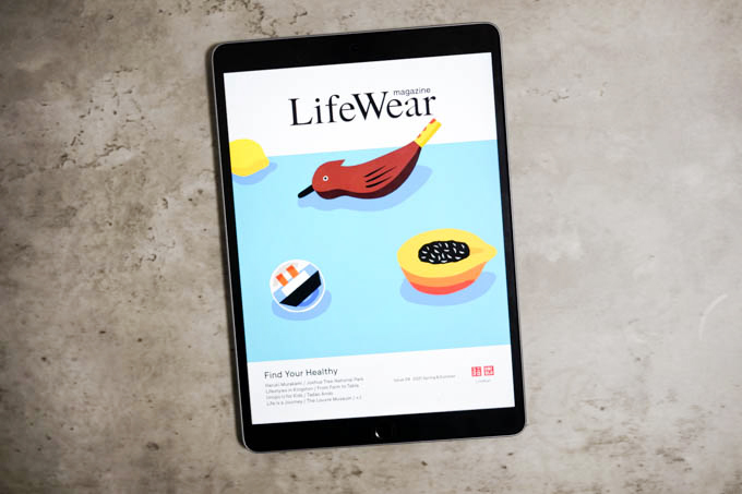 UNIQLO LifeWear magazine Issue 04 (2021/SS)