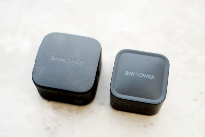 RAVPOWER急速充電器RP-PC144_過去モデルとの比較1