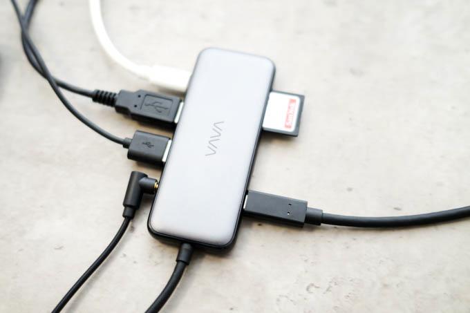 VAVA UC020 USBハブ_接続イメージ
