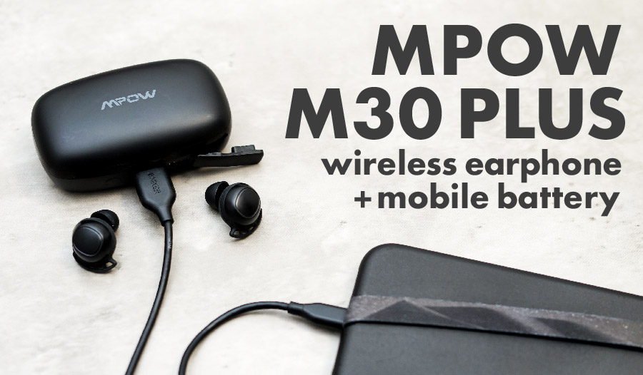 MPOW M30 PLUS アイキャッチ