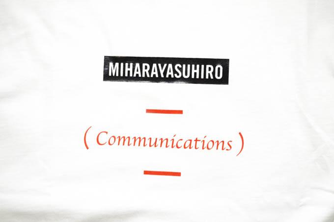 GU×ミハラヤスヒロ_ビッグT(5分袖)MY_正面グラフィック