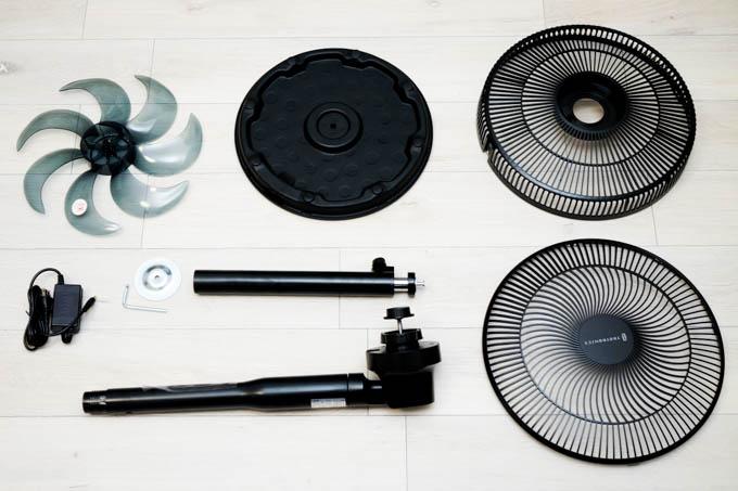 TAOTRONICS TT-TF009 扇風機_組み立て用パーツ
