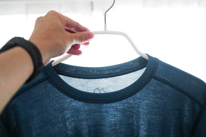 O5PRO Tシャツ_生地の透け感