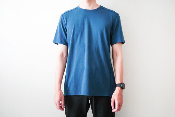 O5PRO Tシャツ_正面着用写真