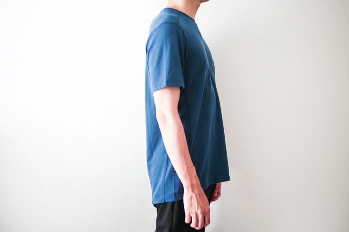 O5PRO Tシャツ_側面着用写真