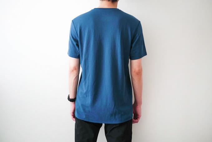 O5PRO Tシャツ_背面着用写真