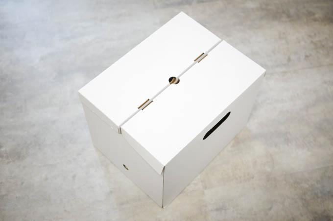 無印 ダンボールファイルボックス1