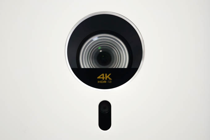 BenQ GK100_レンズ